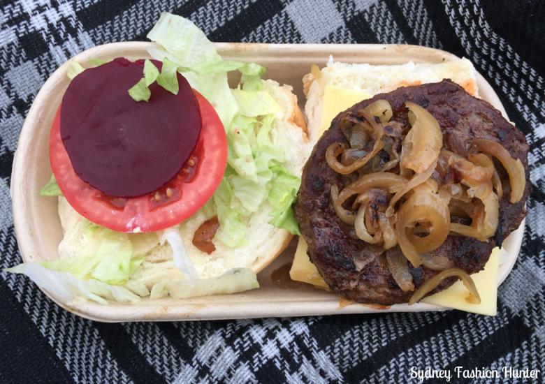 Cold Chisel Concert Burger