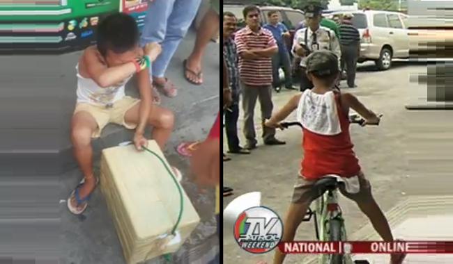 Viral Boy Selling Pansedal Video Shaking in Fear and Shock Got New Bicycle