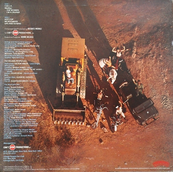Music Rewind Village People Cruisin 1978