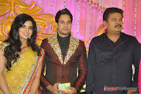 Celebraties at Actor Bharat n Jessy Wedding Reception Photos+%252885%2529 Actor Bharath n Jessy Wedding Photos