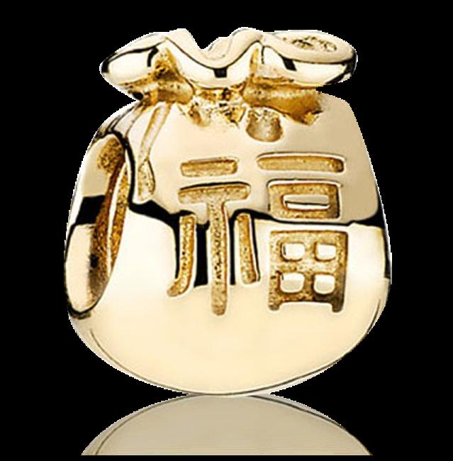 New Obsession Money Bag Gold Charm Hong Kong 750990