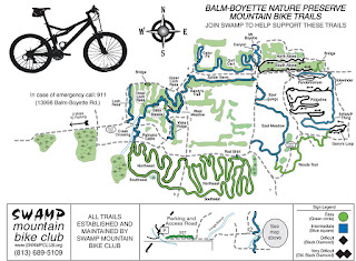 Trail Running Balm Boyette Scrub Preserve - Balm Boyette Scrub Trail Map - Trail Running Florida - Beachbody Performance