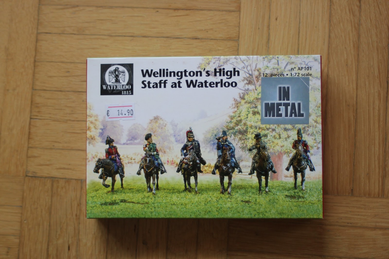 Wellington/'s High staff at Waterloo 1:72 Waterloo 1815