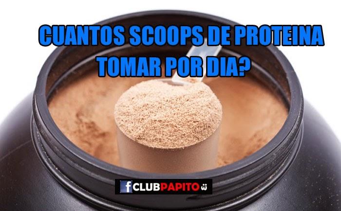 Club papito 3 cuantos scoops de proteina debo tomar al for Cuanto peso aguanta un cuelga facil