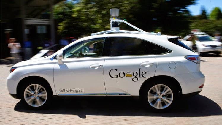 """سيارات """"غوغل"""" من دون سائق يمكن أن تتجاوز السرعة المسموح بها"""