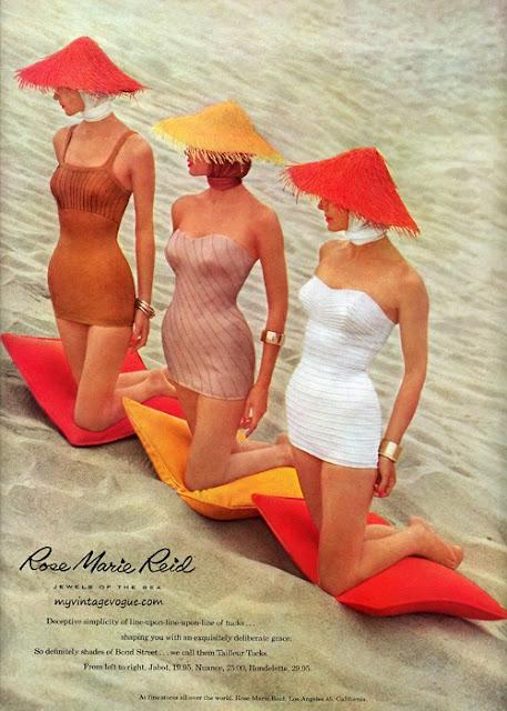vintage ad for rose marie reid