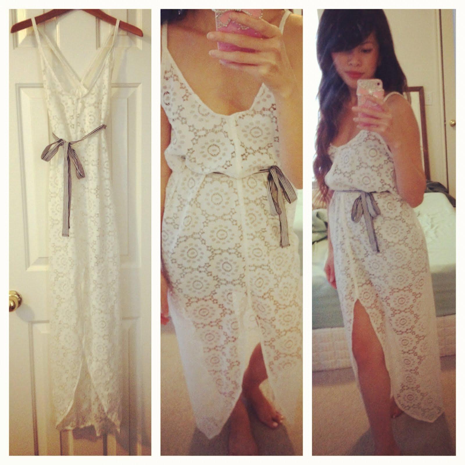Boho maxi dress tutorial