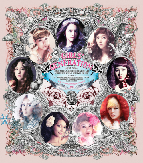 SNSD 3rd Album The Boys