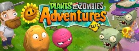 Plantas Vs Zombies Adventures Llega a Facebook