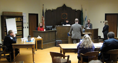Scott on the Stand during Motion to Dismiss Pre-trial Hearing