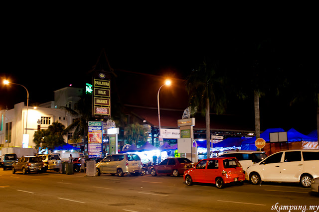 Night Market at Jalan Pahlawan