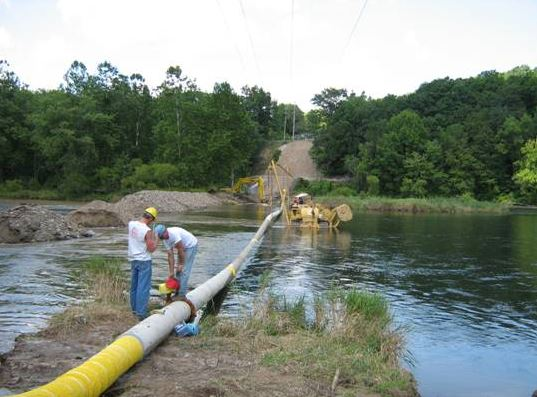 lake dredging project