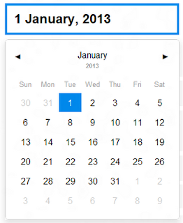 Jquery date format in Melbourne