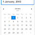cool lightweight datepicker