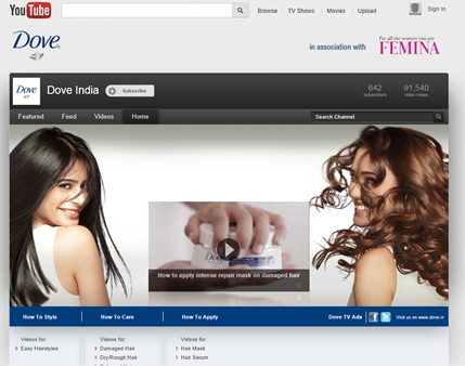 Powering Brands Dove Indias Youtube Channel Packs In Great Content