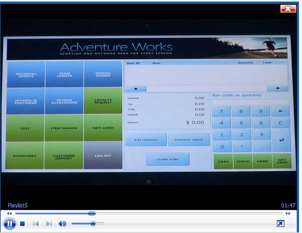 Dynamics ax Screenshots Dynamics ax 2012 Retail hq