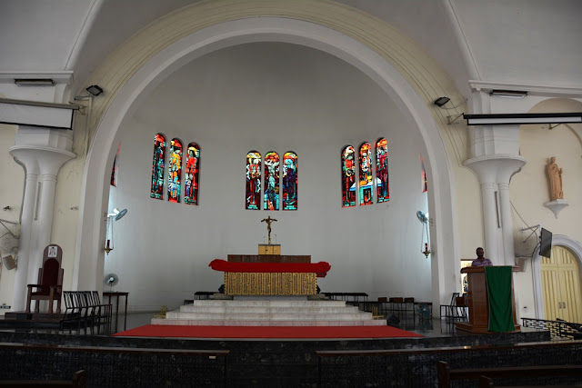 St. Johns cathedral KL altar