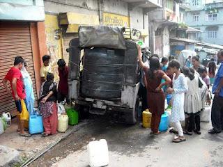 water crisis in Kalimpong