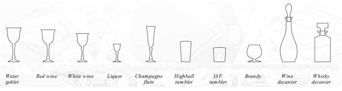 Hospitality: Table setting