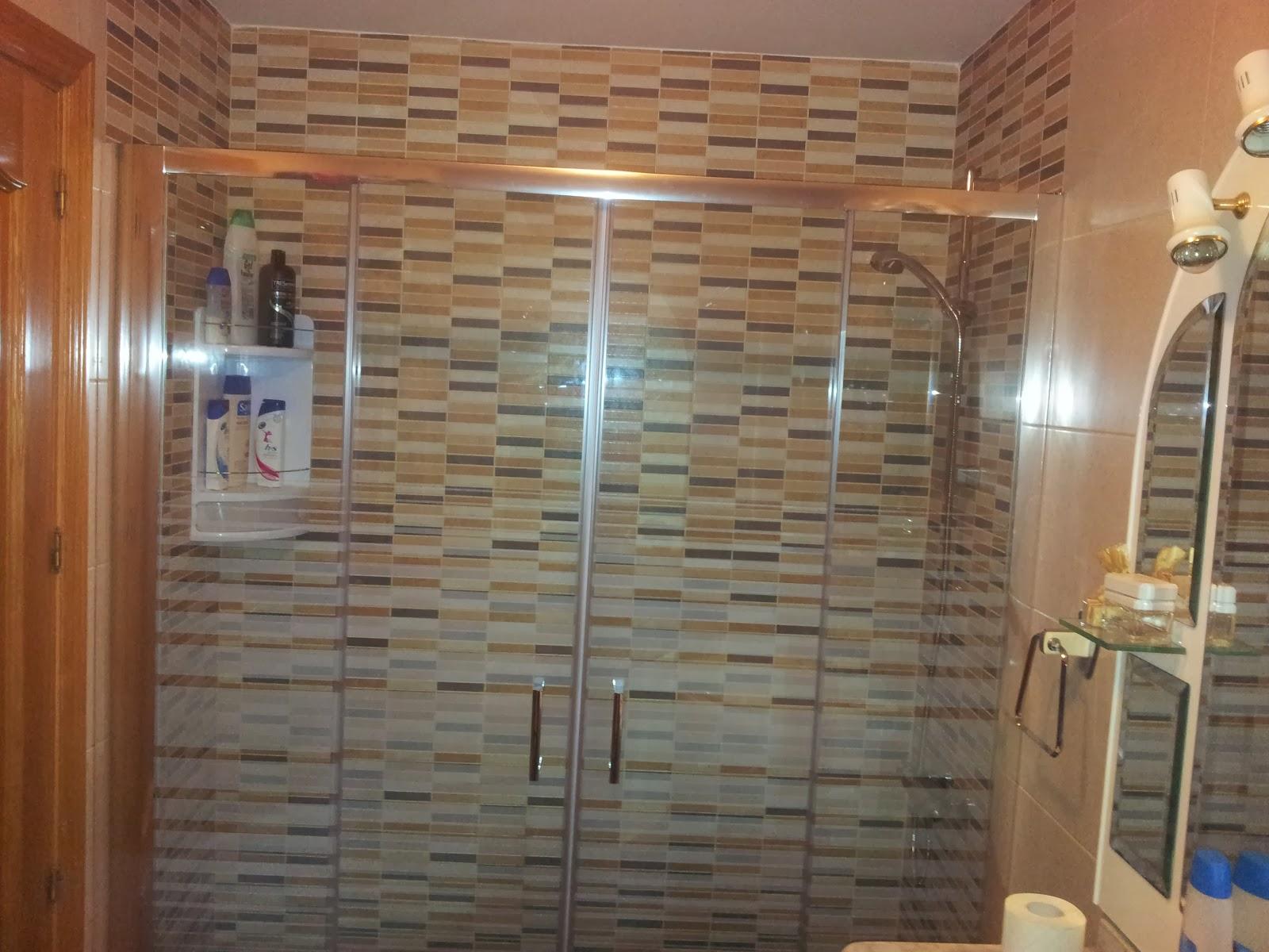 Azulejos ducha perfect cambio de plato de ducha por otro - Azulejos para duchas de obra ...