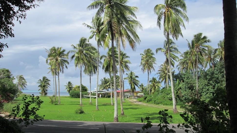 Village de Maatea à Moorea