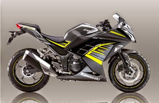 2015 Kawasaki Ninja 250 SE ABS Black Yellow