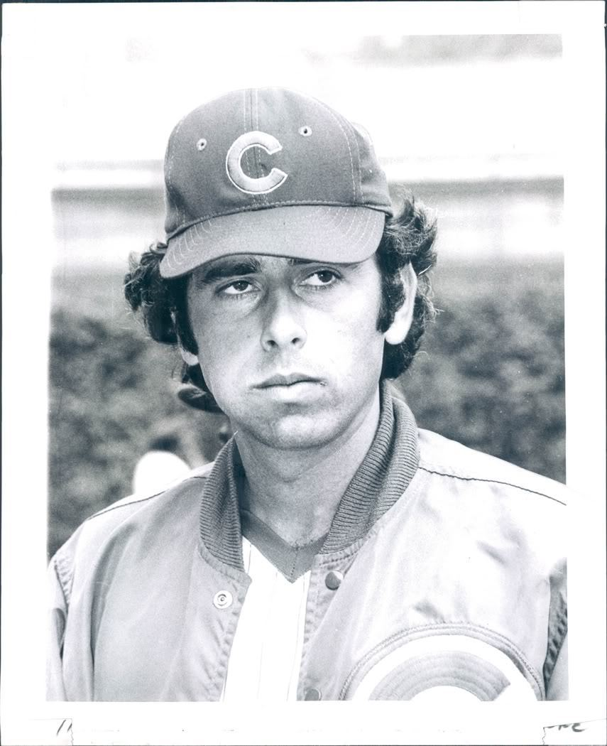 Tom Dettore as a Cub 1974 (PIRATES 1973)