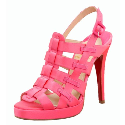 think pink gorgeous christian louboutin pink shoes all