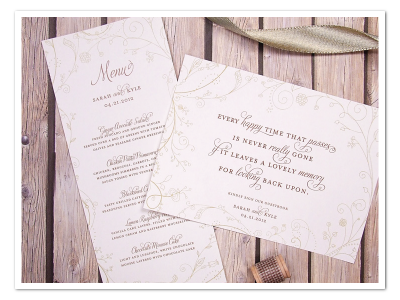 printable floral fun whimsical wedding menu guest book sign diy