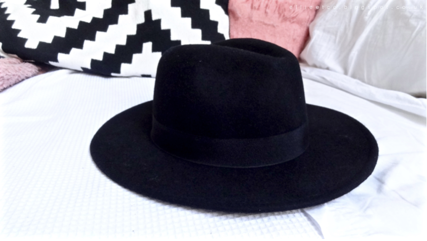 New In, haul, fedora hat, h&m