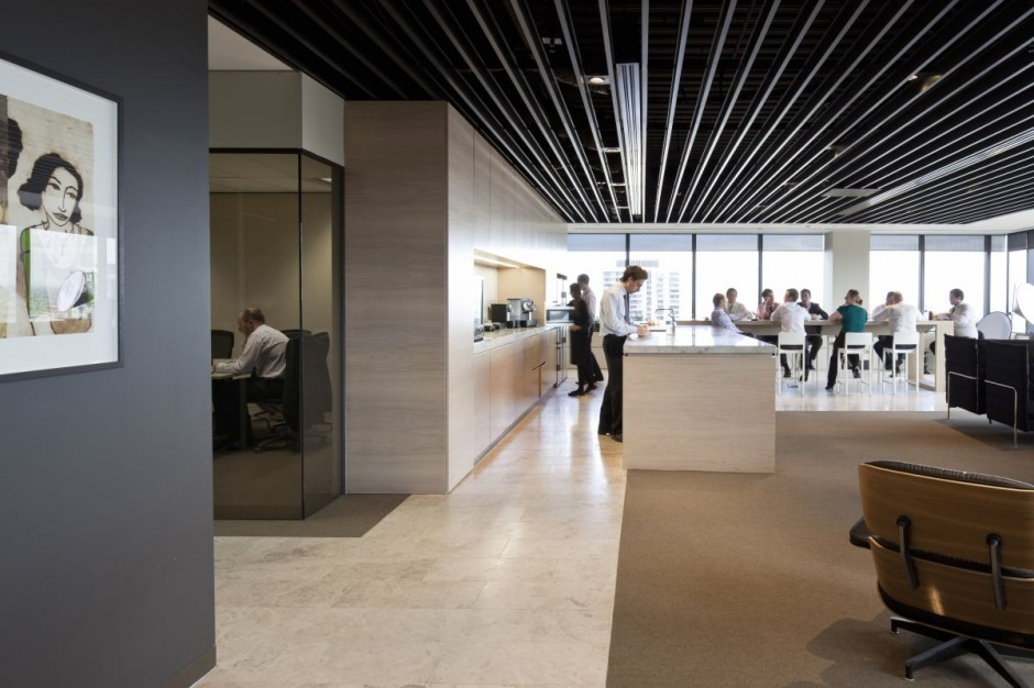 Ppb office interior by hassell housevariety for Interior design for office space