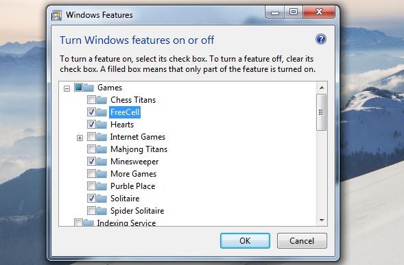 Cara Mudah Menghapus Game Bawaan Windows