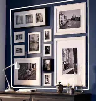 Violeta boluda interiorista leybol agrupa cuadros - Ikea marcos cuadros ...