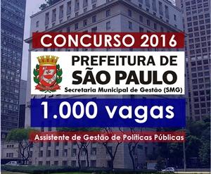 Apostila Prefeitura de São Paulo (AGPP) Assistente de Gestão de Políticas Públicas