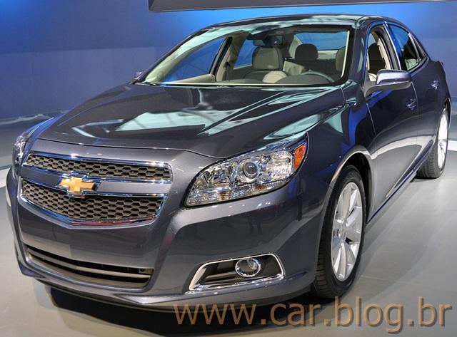 Novo Chevrolet Malibu 2012 brasil