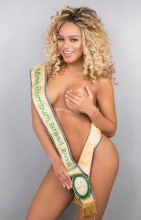 Miss Bumbum 2016, Erika Canela: Sempre sonhei em ser Globeleza