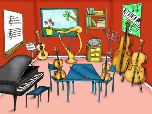 María Laura Sayús: Ilustraciones para aplicación educativa