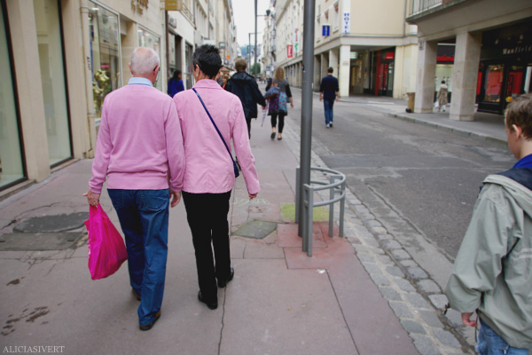 aliciasivert, alicia sivertsson, rouen, france, frankrike, pink couple, rosa, par