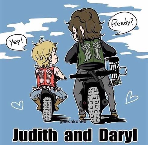 Judith and Daryl