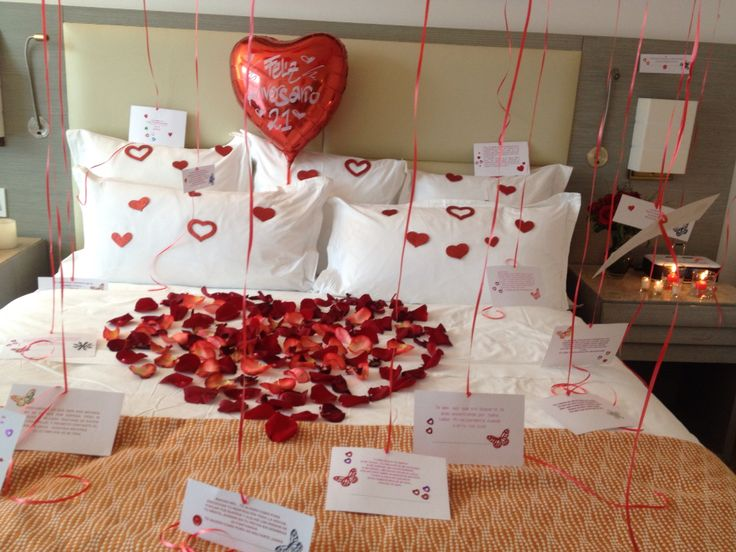 Habitaciones decoradas romanticas para parejas imagenes - Sorpresas romanticas para tu novio ...