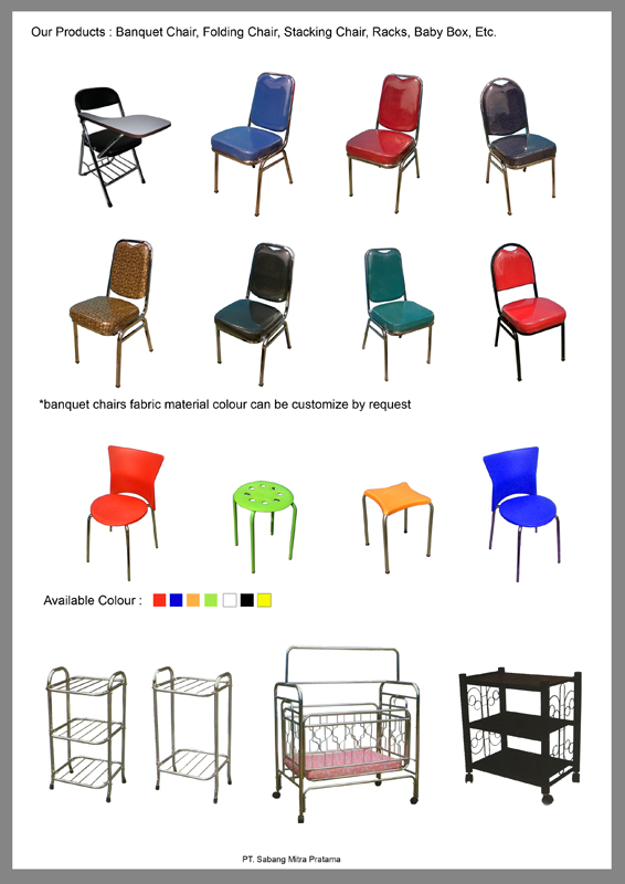 Jual Kursi Susun Banquet Stacking Chairs