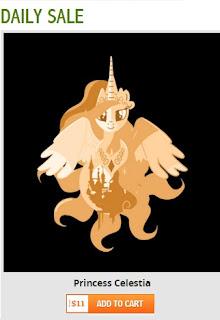 MLP Princess Celestia Unamee Shirt