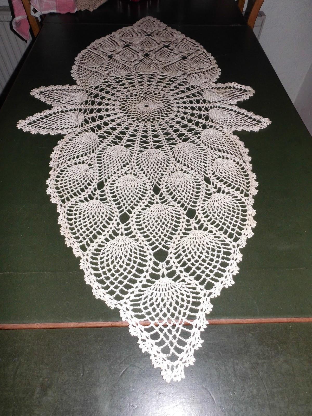 Amazing Häkeln Ananas Muster Ornament - Decke Stricken Muster ...