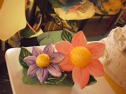 flores de isopor