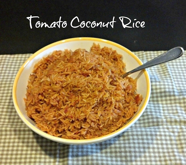 Tomato & Coconut Rice  I Crazy Ingredient Challenge