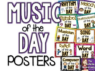 Music of the Day Posters