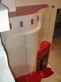 modern cserépkályha