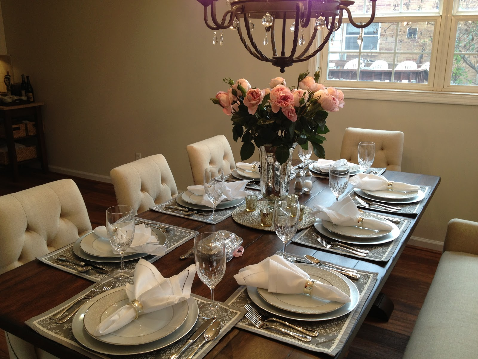 Inspired I Dos Elegant Dinner Party Think Pink