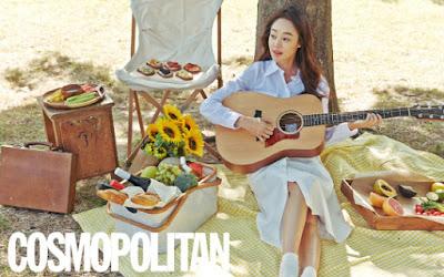 Choi Yeo Jin Cosmopolitan November 2015