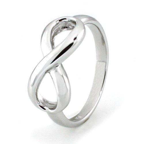 sterling silver infinity ring rings